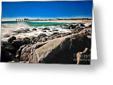 The Jersey Shore Greeting Card by Paul Ward
