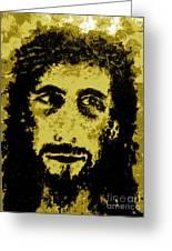 The Savior Greeting Card by Alys Caviness-Gober