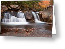 Upper Screw Auger Falls Greeting Card by Patrick Downey