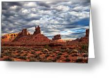 Valley Of The Gods II Greeting Card by Robert Bales