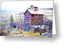 Vintage Barn Greeting Card by Steve McKinzie