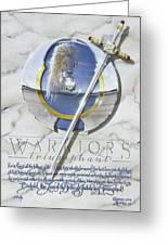 Warriors Triumphant Greeting Card by Cliff Hawley