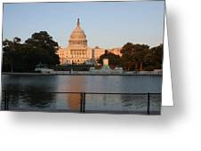 Washington Dc - Us Capitol - 011311 Greeting Card by DC Photographer