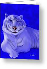 White Greeting Card by William  Paul Marlette
