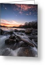 Wild River Greeting Card by Davorin Mance
