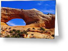Wilsons Arch Greeting Card by Jeff Swan