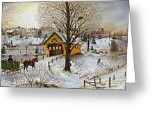 Winter Memories Greeting Card by Doug Kreuger