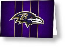 Baltimore Ravens Greeting Card by Joe Hamilton