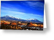 Capitol Reef National Park Burr Trail Greeting Card by Mark Smith