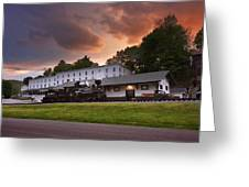 Cass Scenic Railroad Greeting Card by Mary Almond