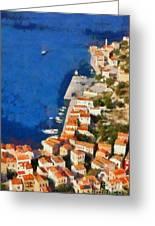 Kastellorizo Island Greeting Card by George Atsametakis