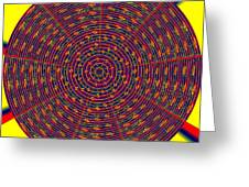 1020 Abstract Thought Greeting Card by Chowdary V Arikatla