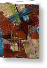 On The Diagonal Greeting Card by Tracy L Teeter