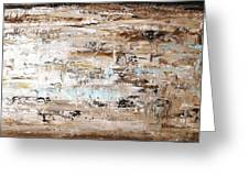 Abstract Painting  Greeting Card by Jolina Anthony