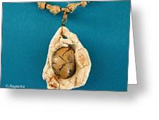 Aphrodite Antheia Necklace Greeting Card by Augusta Stylianou