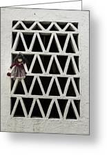 Old Doll Greeting Card by Joana Kruse