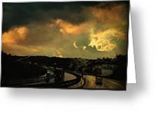 12 Days Of Rain Greeting Card by Taylan Apukovska