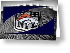 Denver Broncos Greeting Card by Joe Hamilton