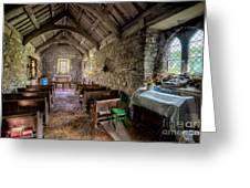 12th Century Chapel Greeting Card by Adrian Evans