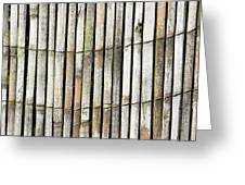 Wood background Greeting Card by Tom Gowanlock