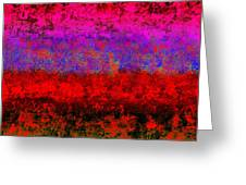 1423 Abstract Thought Greeting Card by Chowdary V Arikatla