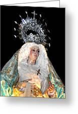143 Semana Santa In Olvera Greeting Card by Patrick King