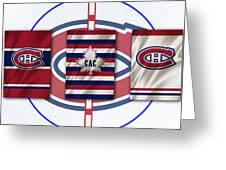 Montreal Canadiens Greeting Card by Joe Hamilton