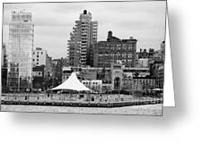 165 Charles Street Pier 45 Hudson River Park New York City  Greeting Card by Joe Fox