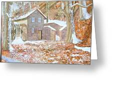 17 Centry Ghrist Mill Greeting Card by Jim Ivey
