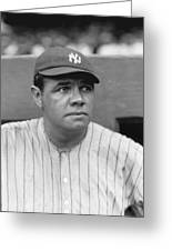 George H. Babe Ruth Greeting Card by Retro Images Archive