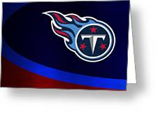 Tennessee Titans Greeting Card by Joe Hamilton