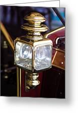1907 Panhard Et Levassor Lamp Greeting Card by Jill Reger