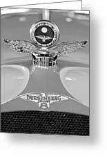 1926 Duesenberg Model A Boyce Motometer 2 Greeting Card by Jill Reger