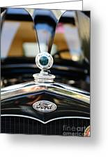 1931 Ford Model A Greeting Card by Paul Ward