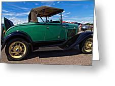 1931 Model T Ford Greeting Card by Steve Harrington
