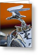 1932 Alvis Hood Ornament 2 Greeting Card by Jill Reger