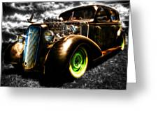 1936 Chevrolet Sedan Greeting Card by Phil 'motography' Clark