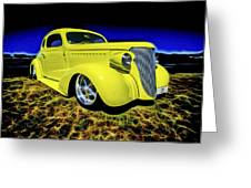 1938 Chevrolet Coupe Greeting Card by motography aka Phil Clark