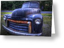 1947 Gmc Greeting Card by Eric Gendron