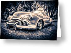 1949 Buick Eight Super Greeting Card by motography aka Phil Clark