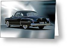1950 Oldsmobile 88 Deluxe Club Coupe II Greeting Card by Dave Koontz