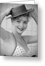 1950s Pinup Greeting Card by Chuck Staley