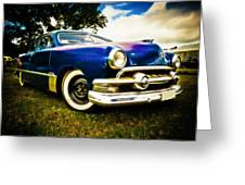 1951 Ford Custom Greeting Card by Phil 'motography' Clark