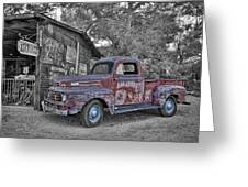 1951 Ford F-1 Greeting Card by Robert Jensen