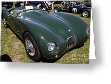 1952 Jaguar Xk120 Roadster 5d22967 Greeting Card by Wingsdomain Art and Photography