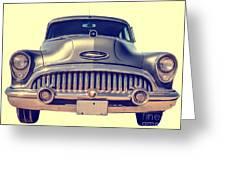 1953 Buick Roadmaster Greeting Card by Edward Fielding