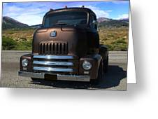 1954 International Harvester Coe Pickup Truck Greeting Card by Tim McCullough