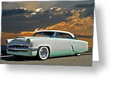 1954 Mercury Retro Custom Greeting Card by Dave Koontz