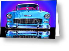 1955 Chevy Bel Air Greeting Card by Jim Carrell
