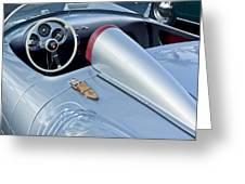 1955 Porsche Spyder  Greeting Card by Jill Reger